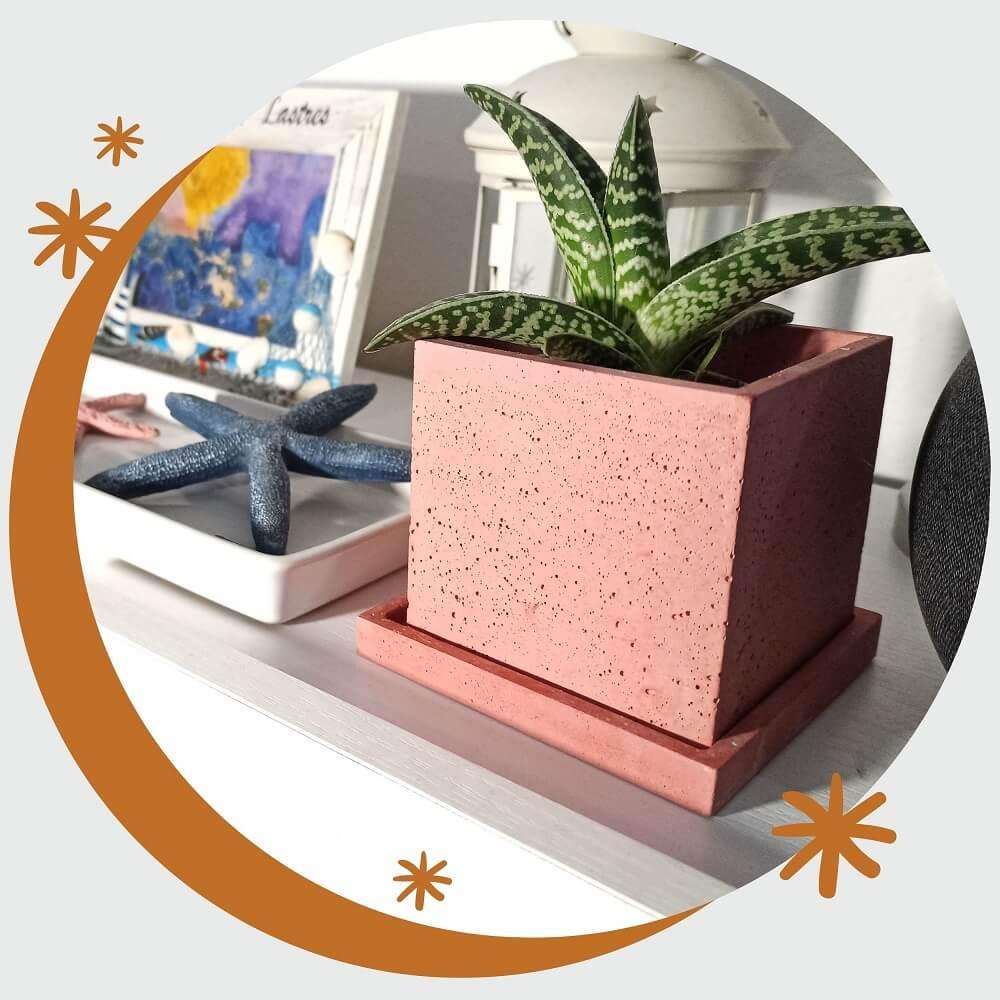 Venta de Macetas Cuadradas de cemento